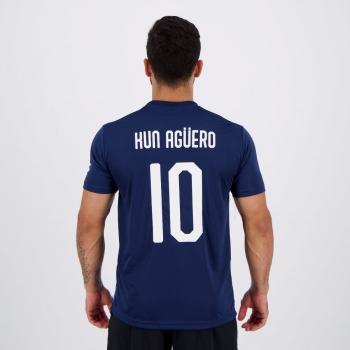Camisa Manchester City 10 Kun Agüero
