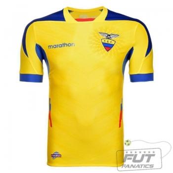 Camisa Marathon Equador Home 2014