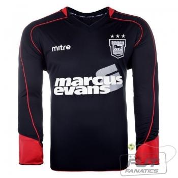 Camisa Mitre Ipswich Town Gk Black 2012