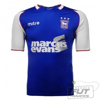 Camisa Mitre Ipswich Town Home 2014