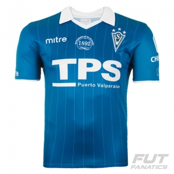 Camisa Mitre Santiago Wanderes Home 2012