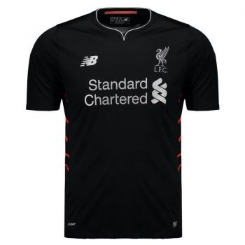 Camisa New Balance Liverpool Away 2017 Juvenil