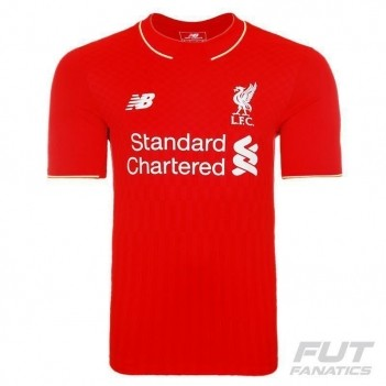 Camisa New Balance Liverpool Home 2016