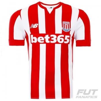 Camisa New Balance Stoke City Home 2016