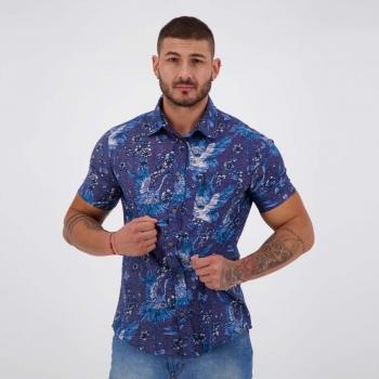 Camisa Nicoboco Hervey Azul