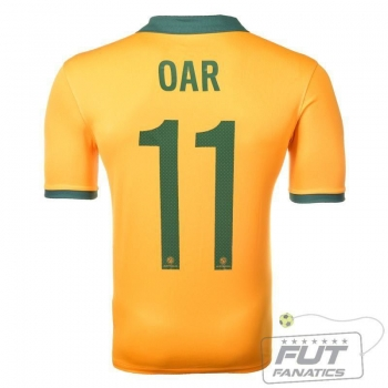 Camisa Nike Australia Home 2014 Oar 11 Matchday