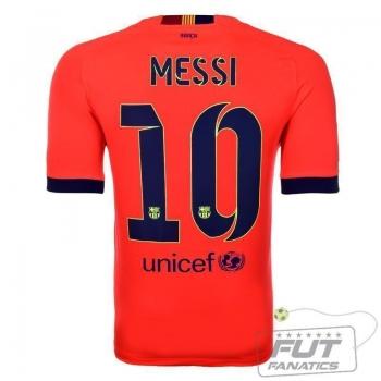 Camisa Nike Barcelona Away 2015 10 Messi