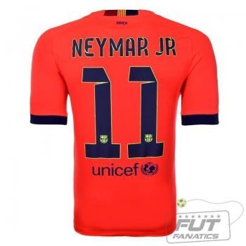 Camisa Nike Barcelona Away 2015 11 Neymar Jr