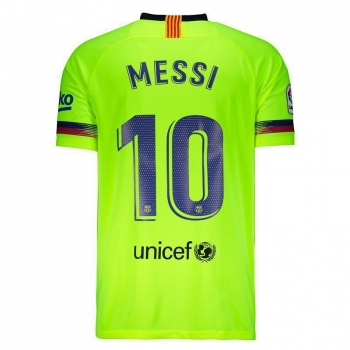 Camisa Nike Barcelona Away 2019 10 Messi