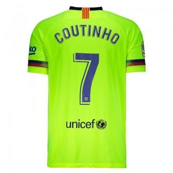 Camisa Nike Barcelona Away 2019 7 Coutinho