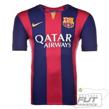 Camisa Nike Barcelona Home 2015