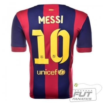 Camisa Nike Barcelona Home 2015 10 Messi