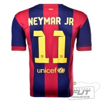 Camisa Nike Barcelona Home 2015 11 Neymar Jr