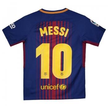 Camisa Nike Barcelona Home 2018 Juvenil 10 Messi