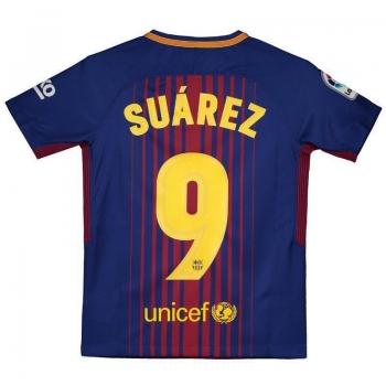 Camisa Nike Barcelona Home 2018 9 Suárez Juvenil