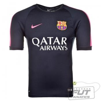 Camisa Nike Barcelona Squad Training 2015