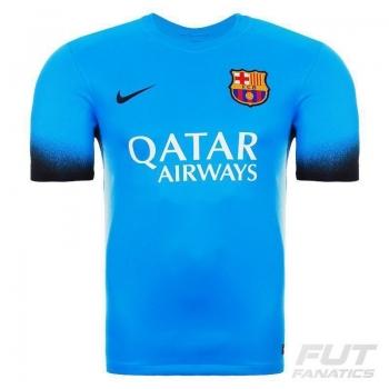 Camisa Nike Barcelona Third 2016