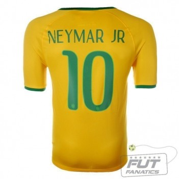 Camisa Nike Brasil Home 2014 10 Neymar Jr.