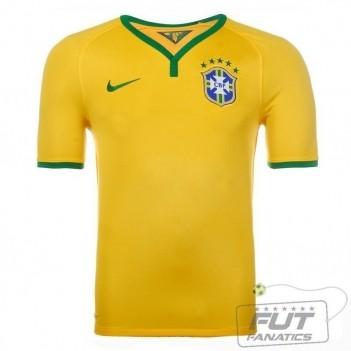 Camisa Nike Brasil Home 2014
