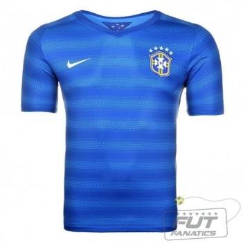 Camisa Nike Brasil Away 2014