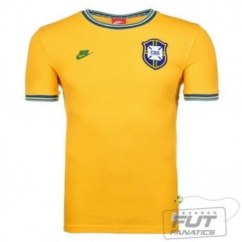 Camisa Nike Brasil Retro 2014
