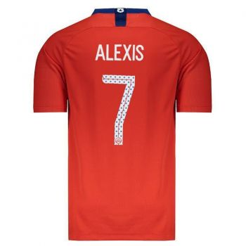 Camisa Nike Chile Home 2018 7 Alexis