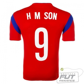 Camisa Nike Coréia Do Sul Home 2014 9 H M Son Matchday