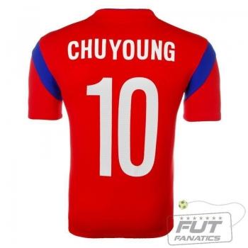 Camisa Nike Coréia Do Sul Home 2014 Chuyoung 10