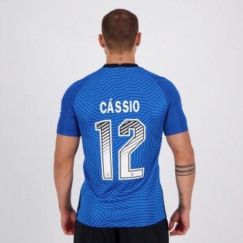 Camisa Nike Corinthians Goleiro 2020 N° 12 Cássio