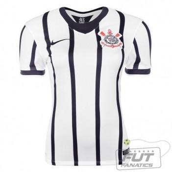 Camisa Nike Corinthians I 2014 Feminina