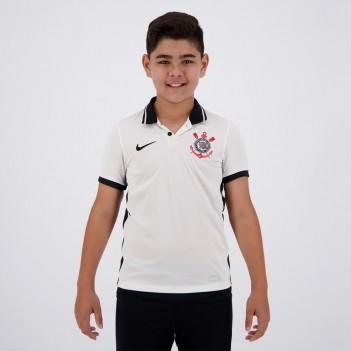 Camisa Nike Corinthians I 2020 Juvenil