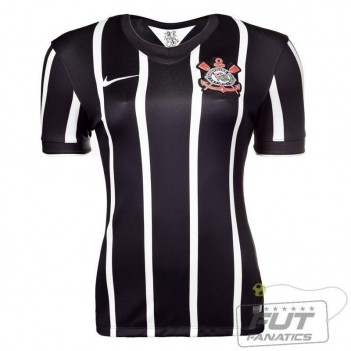 Camisa Nike Corinthians II 2014 Feminina