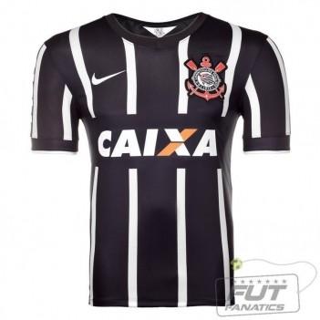 Camisa Nike Corinthians II 2014 Nº 10