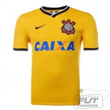 Camisa Nike Corinthians III 2014