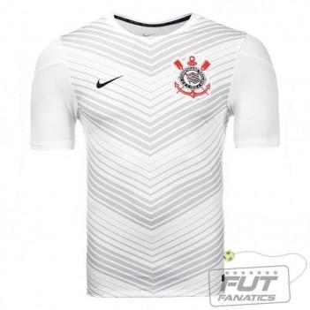 Camisa Nike Corinthians Pré Jogo Squad 2014