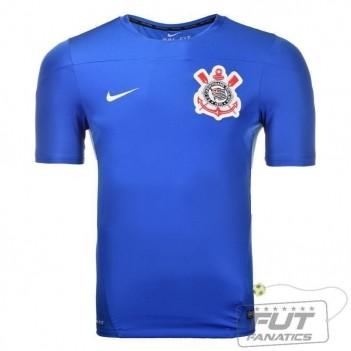 Camisa Nike Corinthians Treino Squad 2014