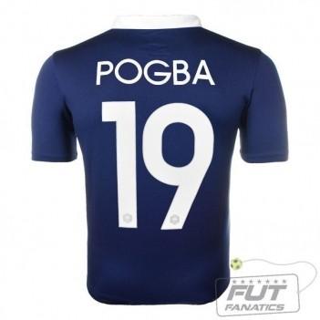 Camisa Nike França Home 2014 19 Pogba Matchday
