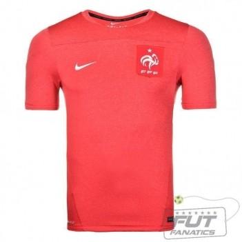 Camisa Nike França Treino Squad 2014