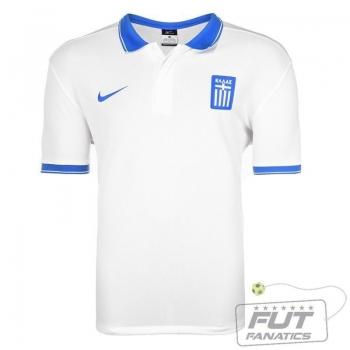 Camisa Nike Grécia Home 2014