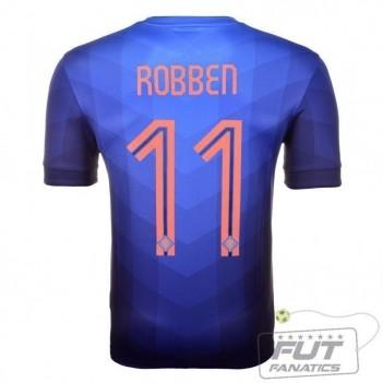Camisa Nike Holanda Away 2014 11 Robben