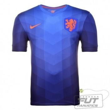 Camisa Nike Holanda Away 2014