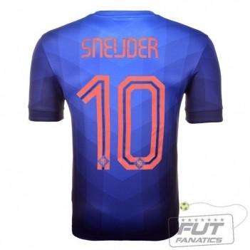 Camisa Nike Holanda Away 2014 10 Sneijder