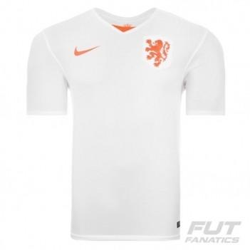 Camisa Nike Holanda Away 2015 Juvenil