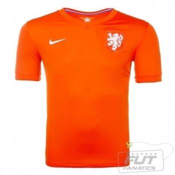 Camisa Nike Holanda Home 2014
