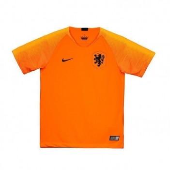 Camisa Nike Holanda Home 2018 Juvenil