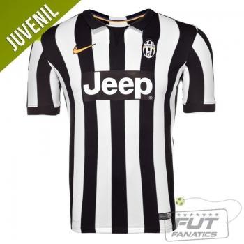 Camisa Nike Juventus Home 2015 Juvenil