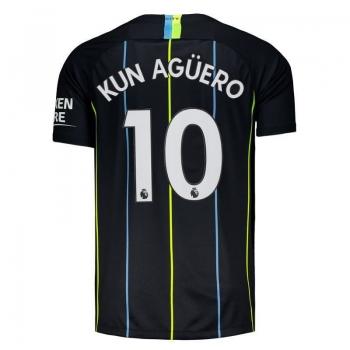 Camisa Nike Manchester City Away 2019 10 Kun Agüero