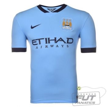 Camisa Nike Manchester City Home 2015