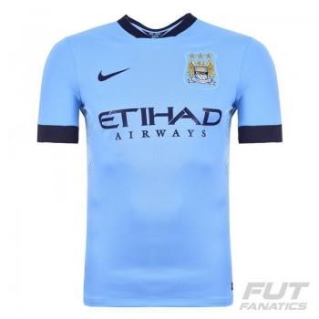 Camisa Nike Manchester City Home 2015 Jogador