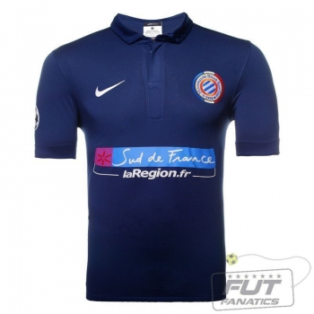 Camisa Nike Montpellier Home 2013 UCL